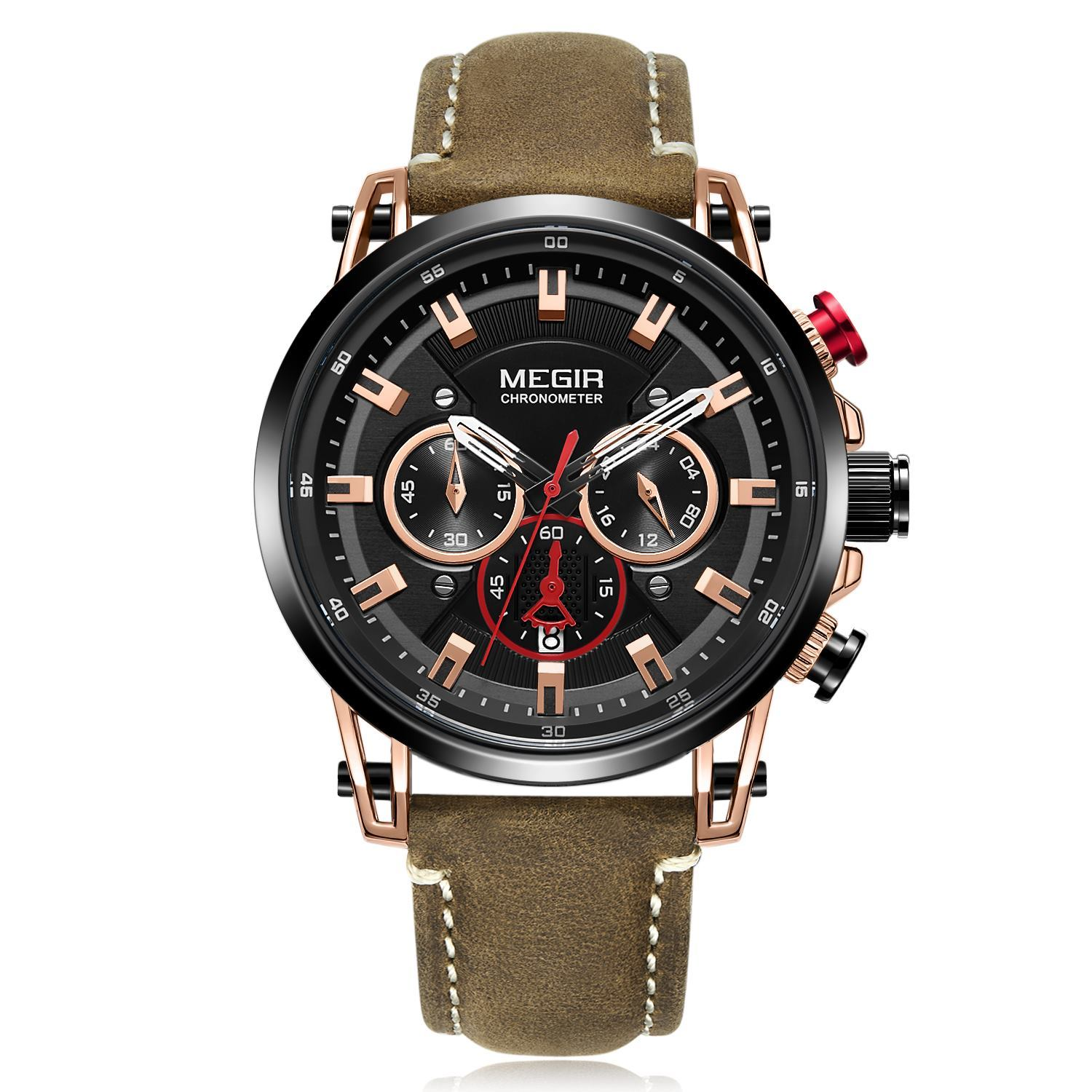 CHRONOGRAPH ML2085GRE-BKBN-1N0