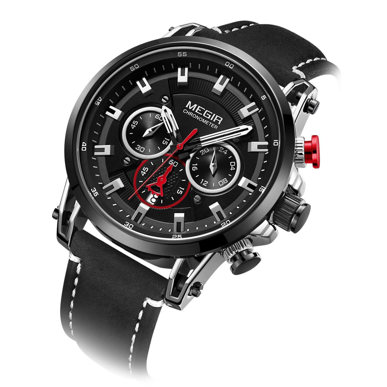 CHRONOGRAPH ML2085GS-BK-1