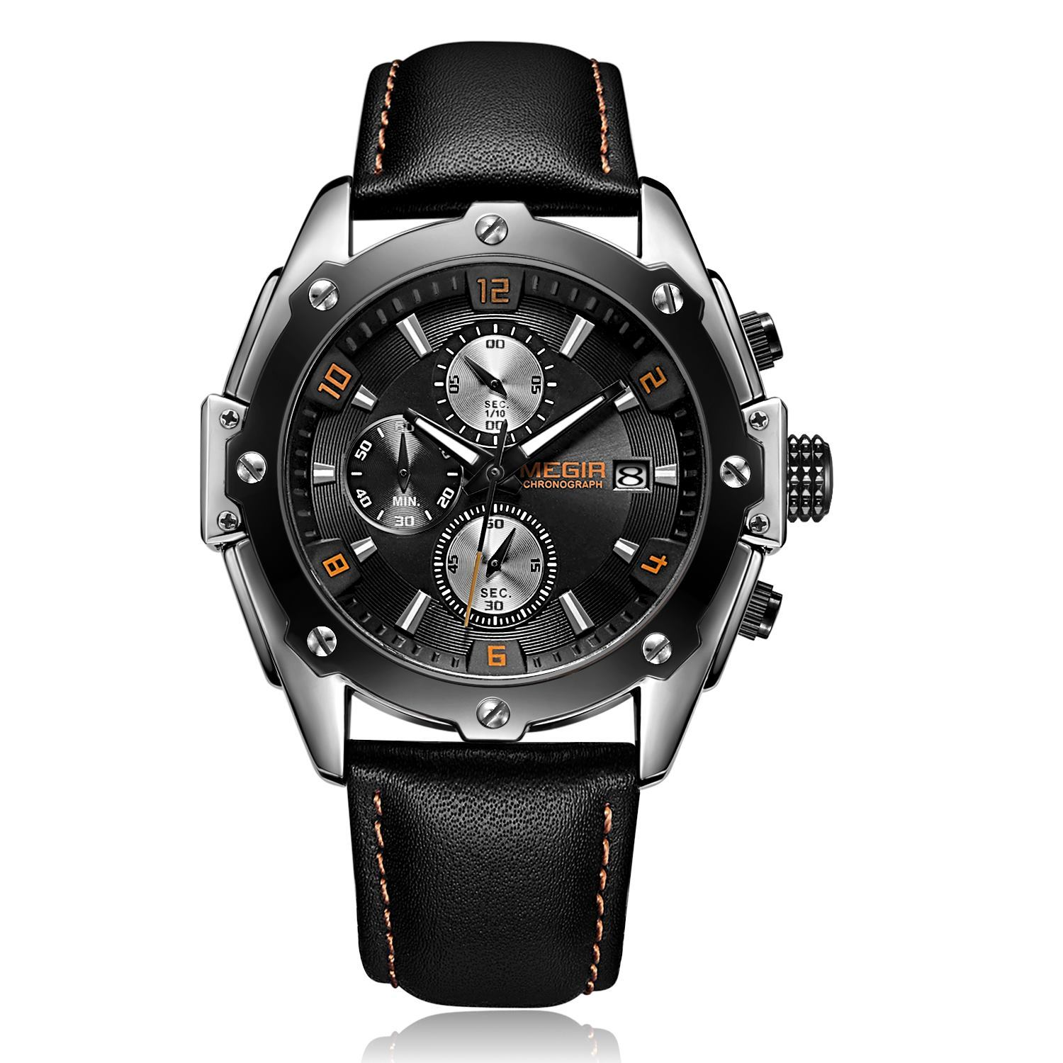 CHRONOGRAPH ML2092GS-BK-1