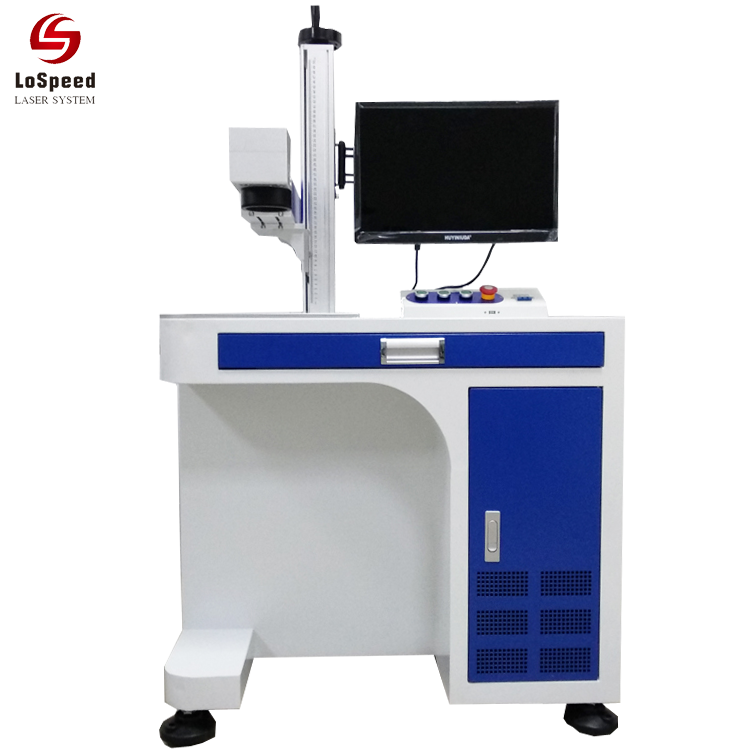 20W Fiber Laser Marking Machine for Metal Plastic Marking