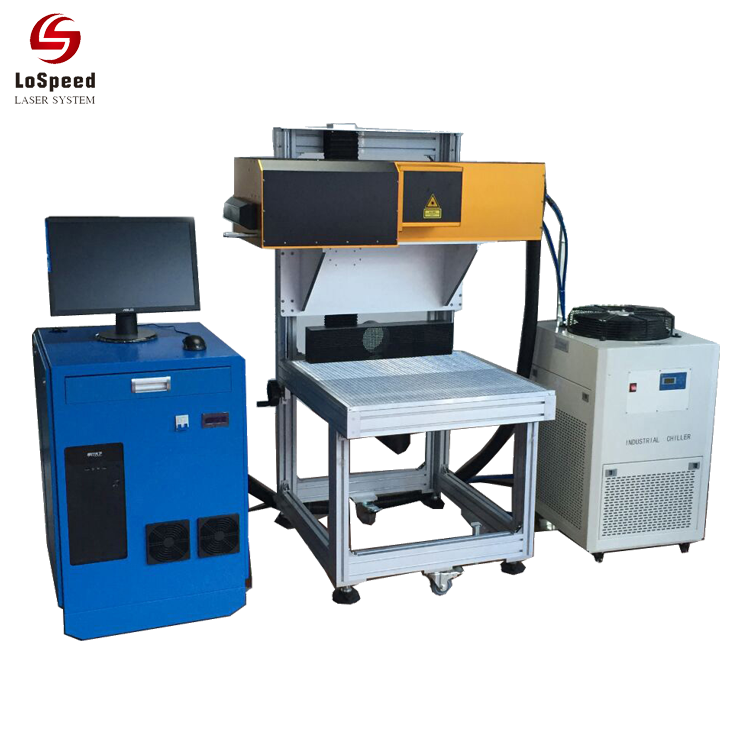 3 Axis Dynamic RF Co2 Laser Marking Machine Laser Engraving