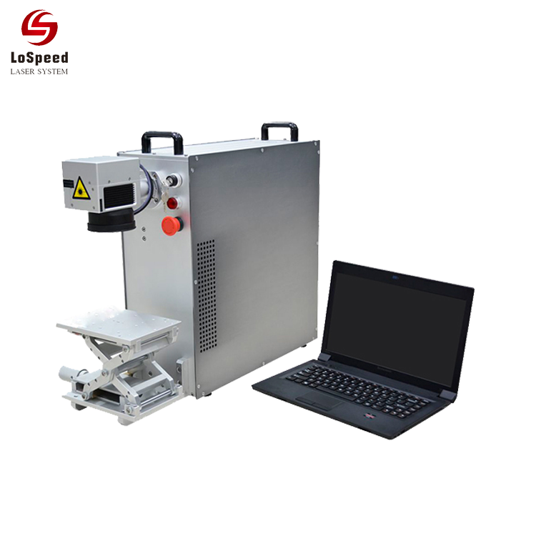 20W Portable Fiber Laser Marking Machines For Metal Auto Par