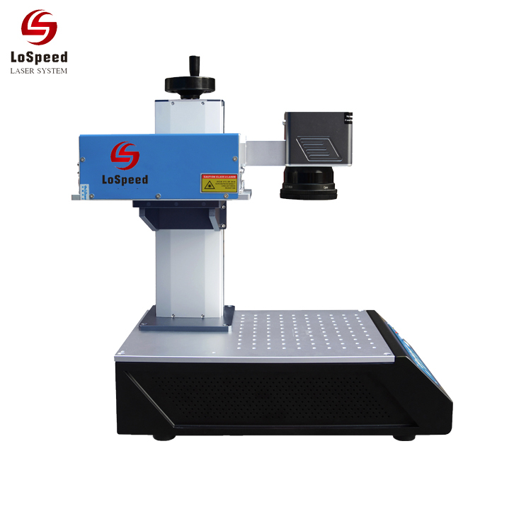 Lospeed New Model 1.5 watt uv Laser Marking Machine