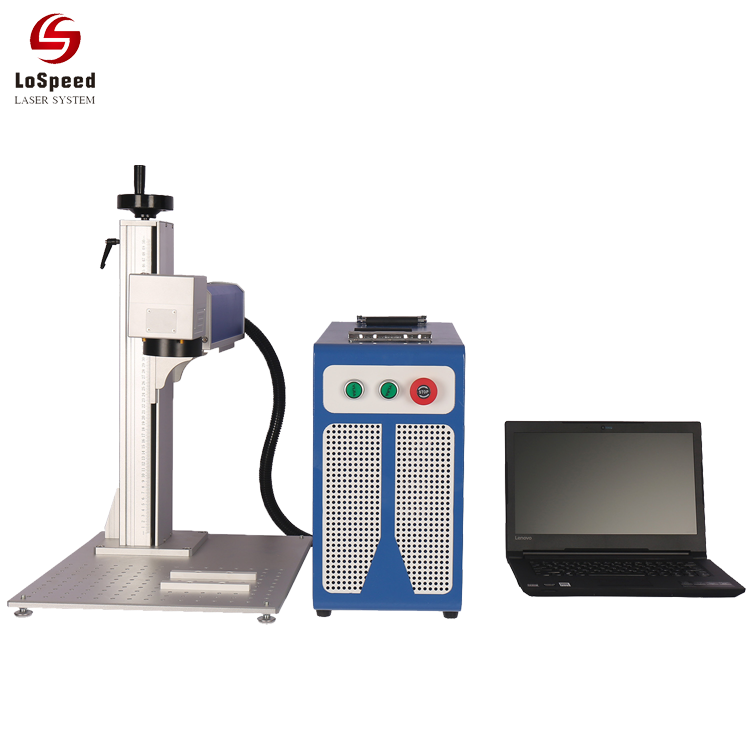 Split Mini Fiber Laser Marking Machine