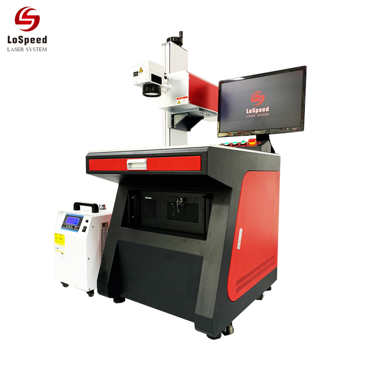 UV Laser Marking Machine for Drink Bottle/Plastic/Phone Case