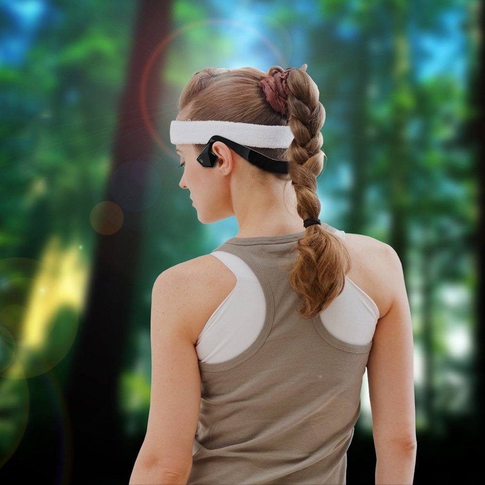 Marsboy Bone Conduction Wireless Sports Bluetooth Stereo Hea