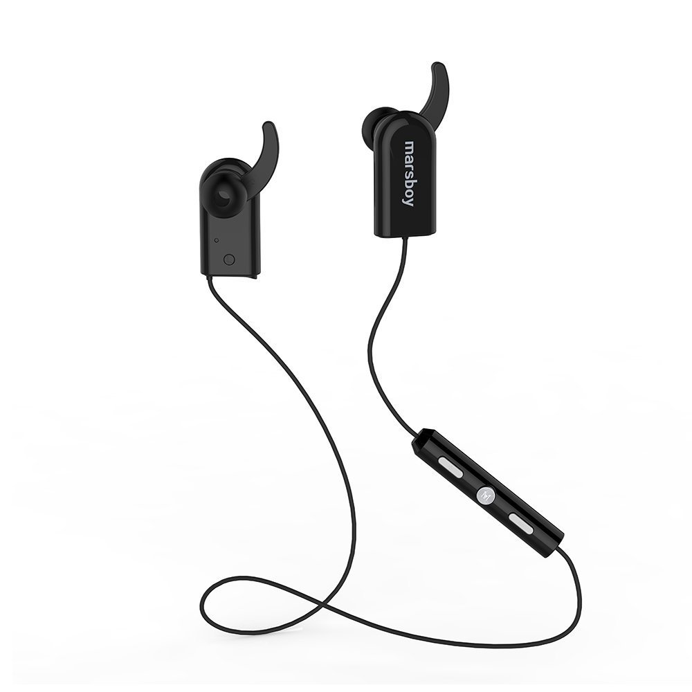 Marsboy Bluetooth V4.0 cuffia senza fili Swift sweatproof Es