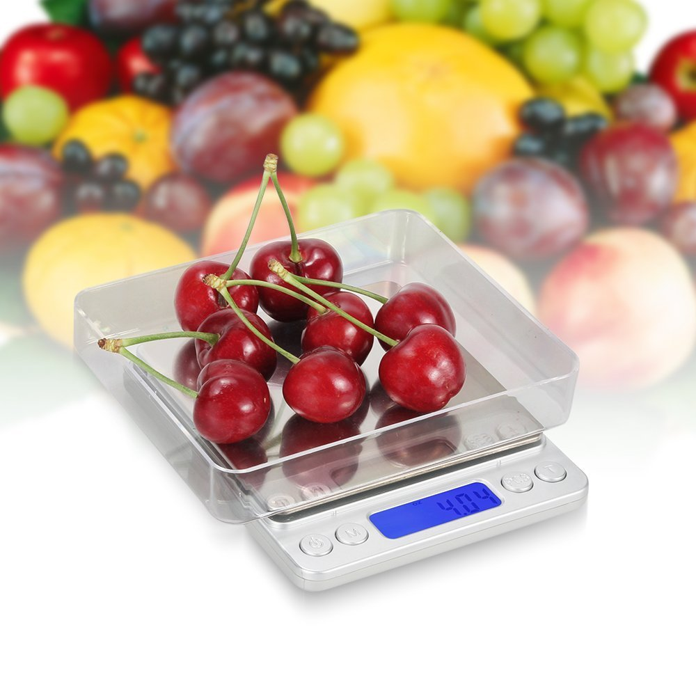marsboy Digital Pocket Scale for Food, Jewelry with Back-Lit