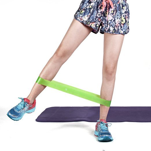 marsboy Resistance Bands Pack of 4 Exercise Bands for Leds W