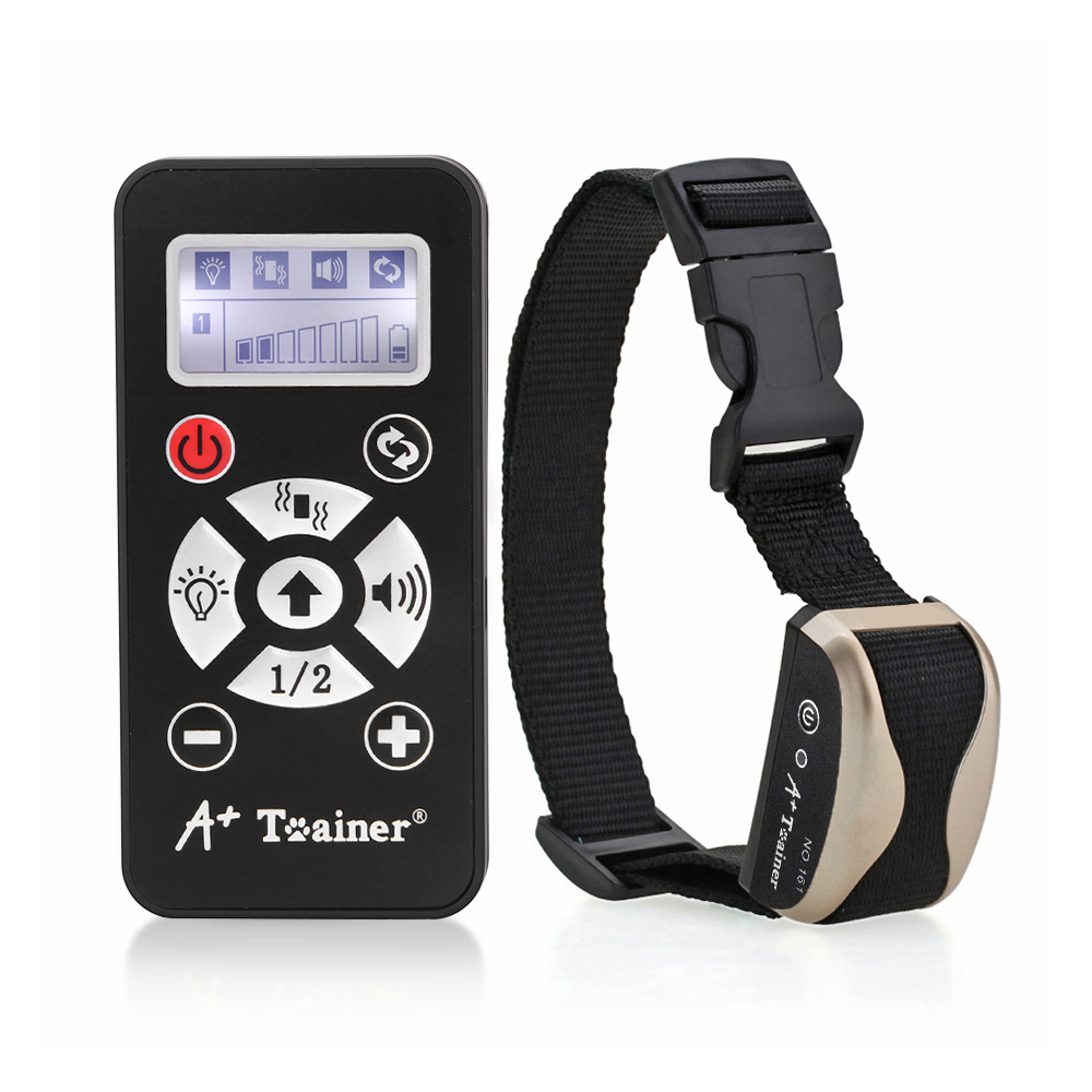 A Dog Training Collar + instrutor Auto Anti Barking Coleiras