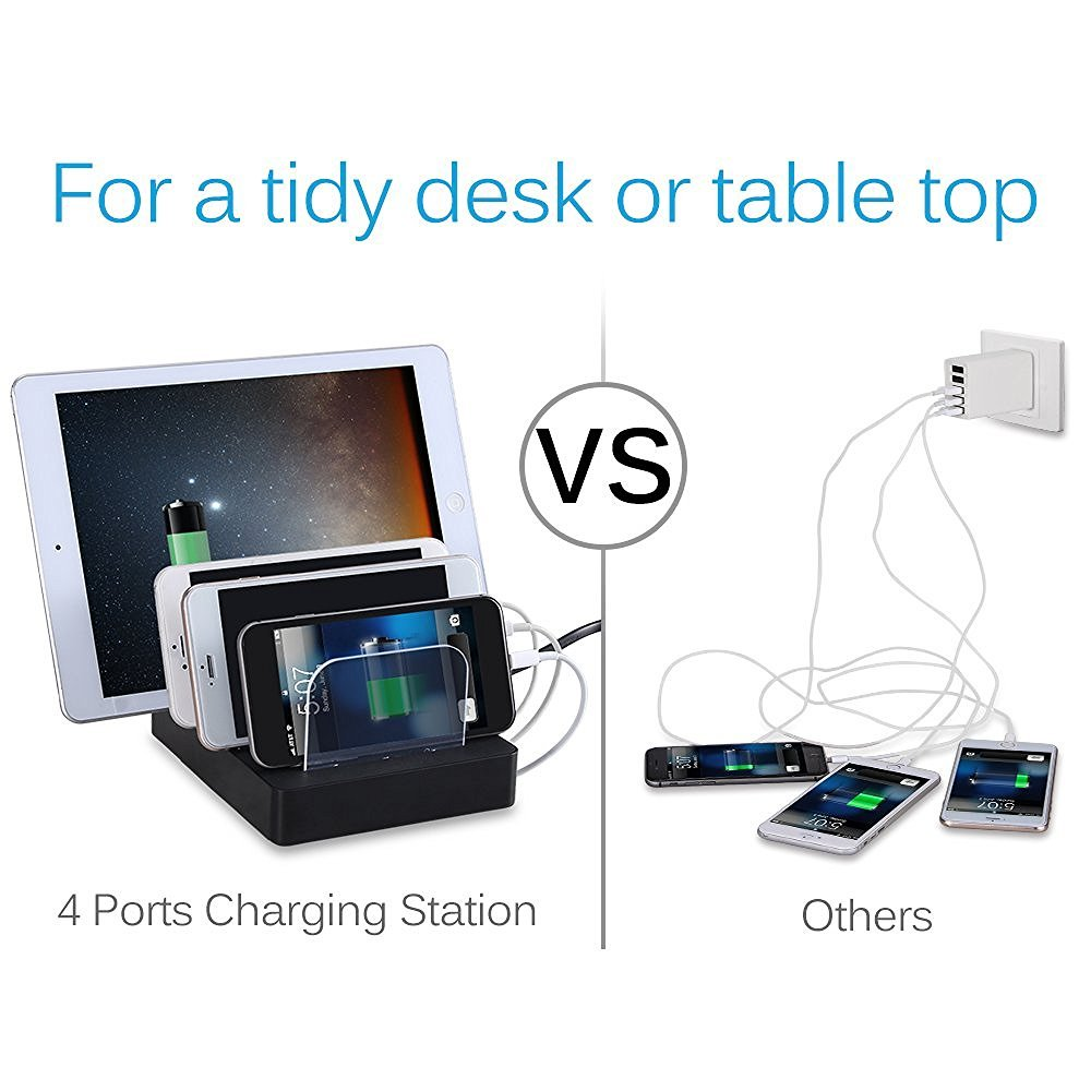 Station de recharge USB Charging Dock 4-Port marsboy