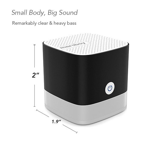Marsboy Portable Bluetooth Speakers, Pocket Size Cube Speake