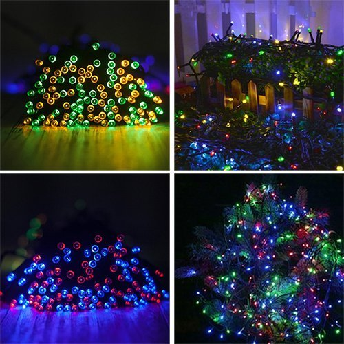 Marsboy 22M Salt Water LED String Lights, 4 Colors 200 LEDs