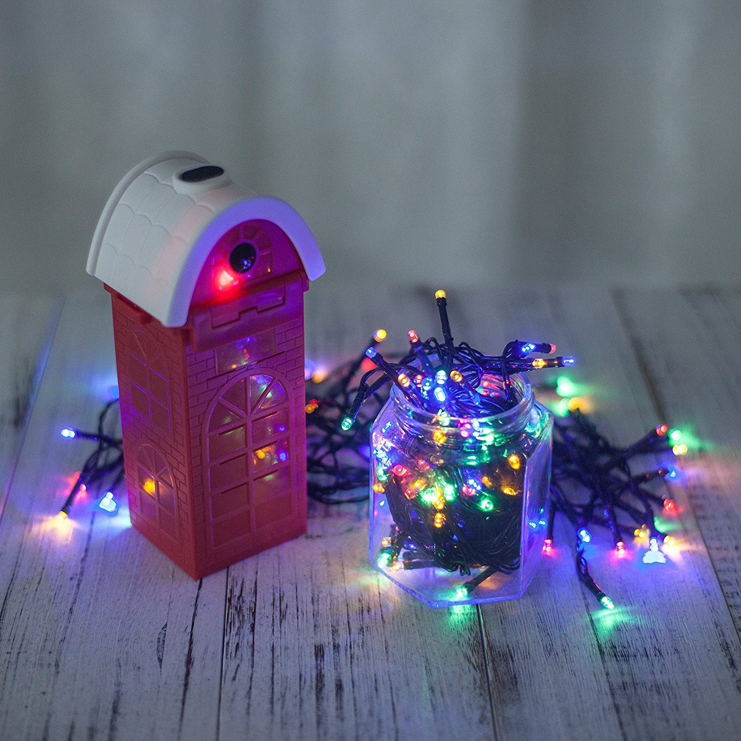 Marsboy Christmas Light Illumination LED light water power g