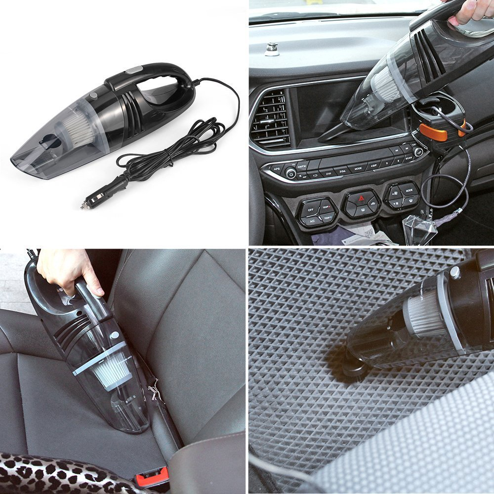 marsboy Mini Car Vacuum Cleaner 12V cigarette lighter car ba