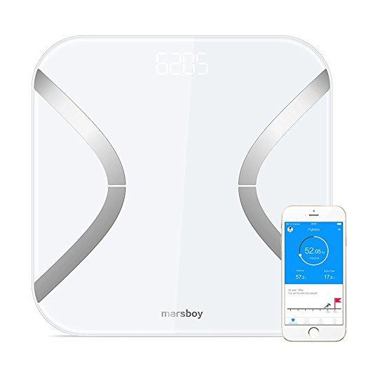 marsboy Body Fat Scale with APP Bluetooth Scale for BMI BMR