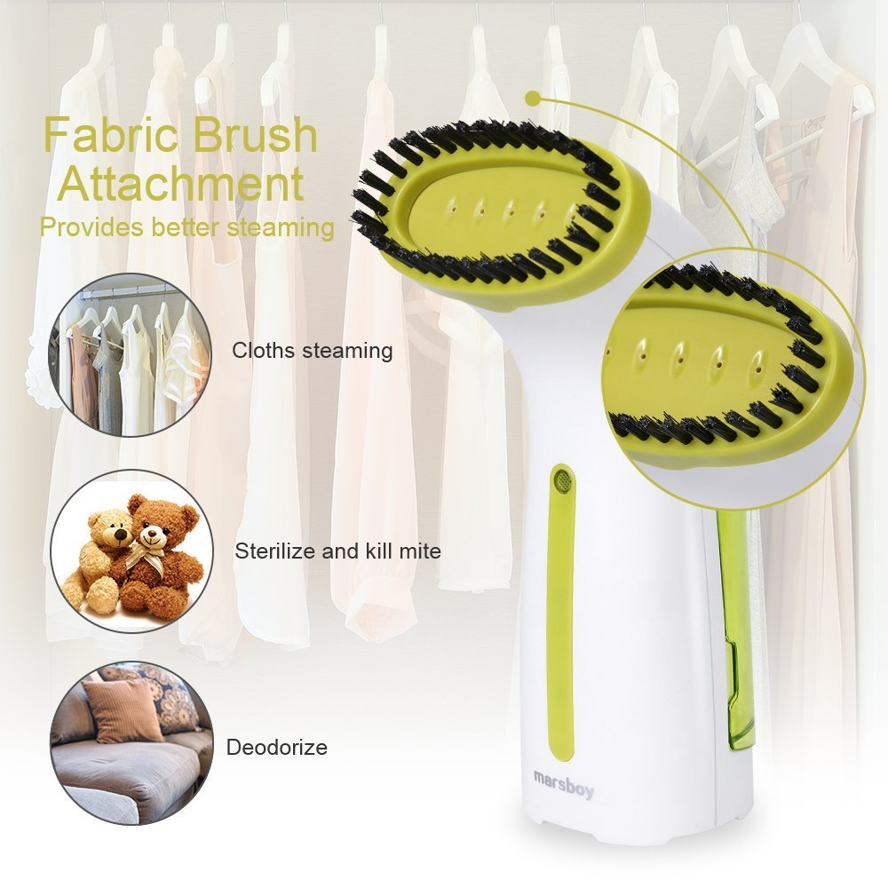 marsboy Handheld Garment Mini Steamer, 100ml Capacity for Ho