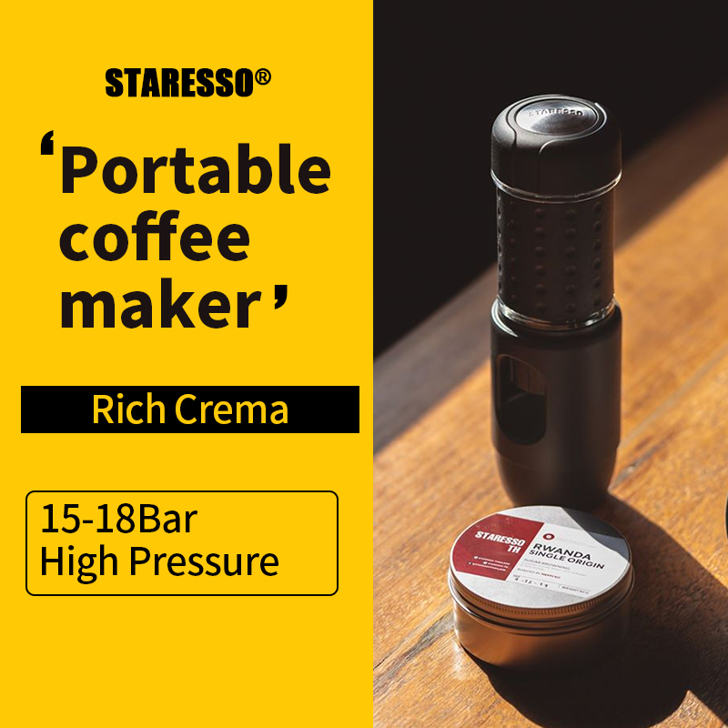 STARESSO MINI: The World's Smallest Espresso Maker
