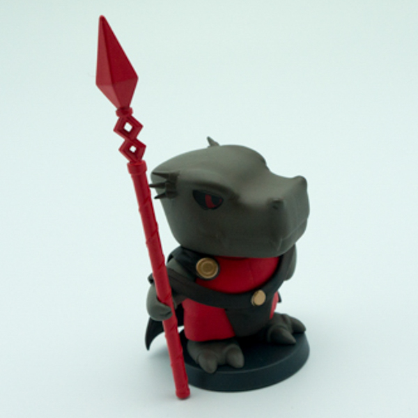pvc cartoon little Rhinoceros character figurine for promoti