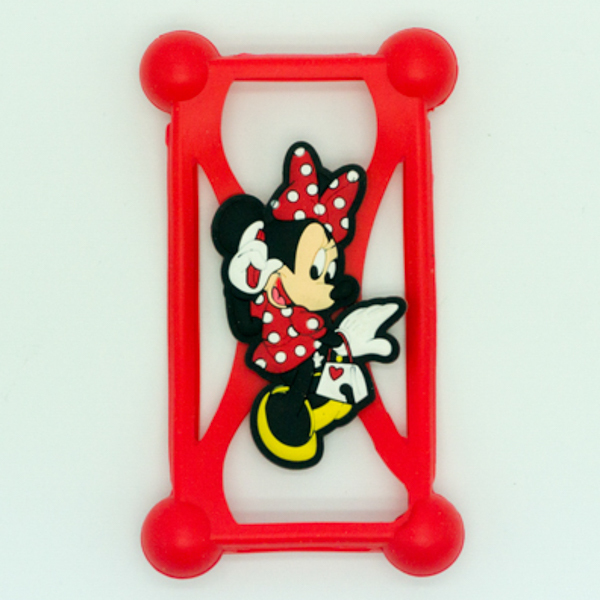 OEM factory cute cartoon design silicone phone case for any
