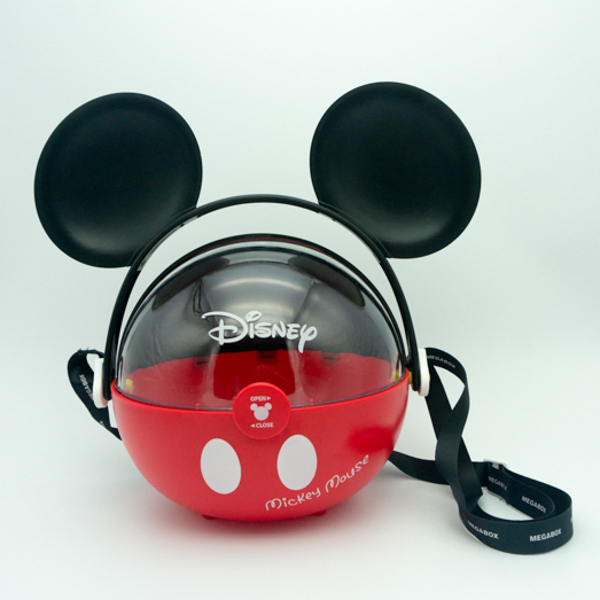 Disney Plastic Popcorn Food Storage Box