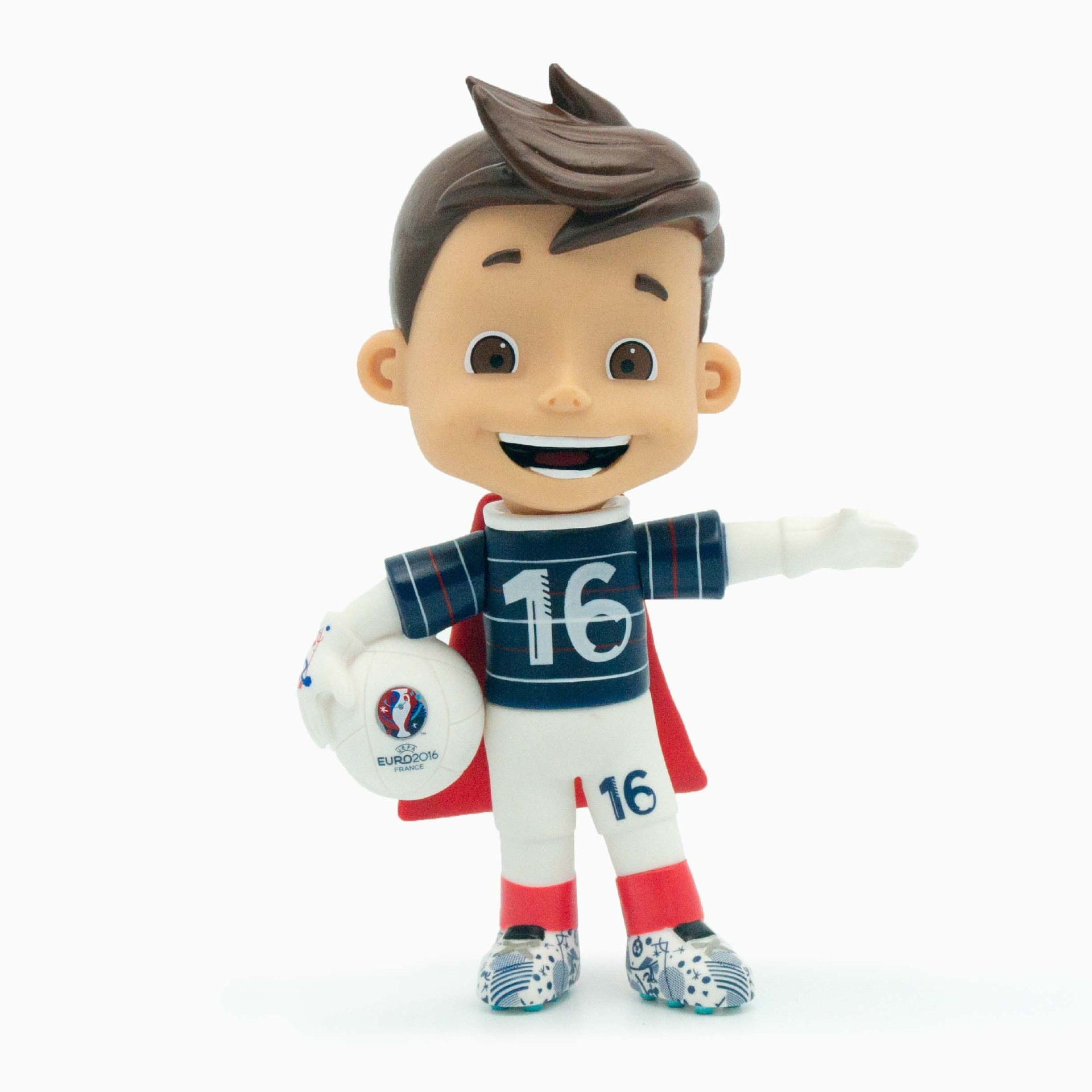 Soccer Player Mascot Action Figure