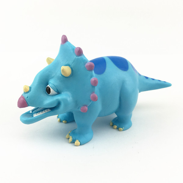 Novetly 3d injection plastic dinosaur toys