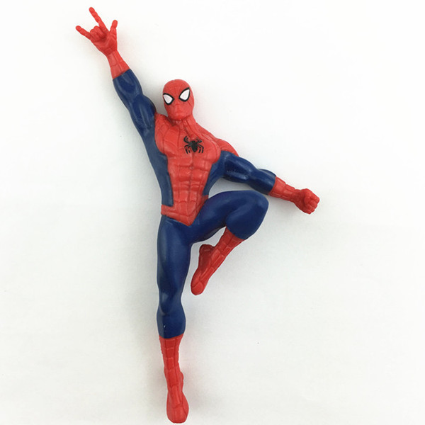 Custom 3D Different Style Plastic Spiderman Figurines