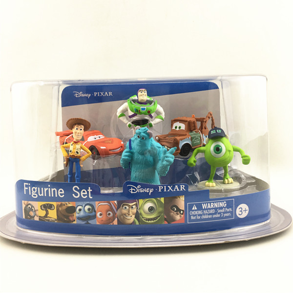 2017 Hot Selling Plastic Mini Toy Story Figurine Sets