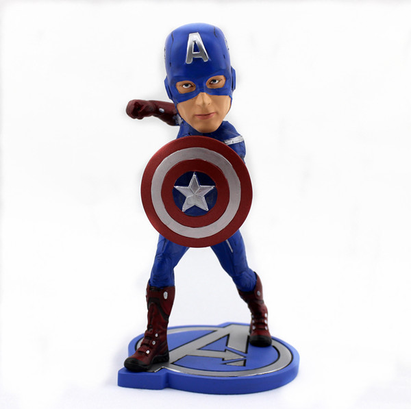 Hot toys Marvel captain America anime action PVC figure