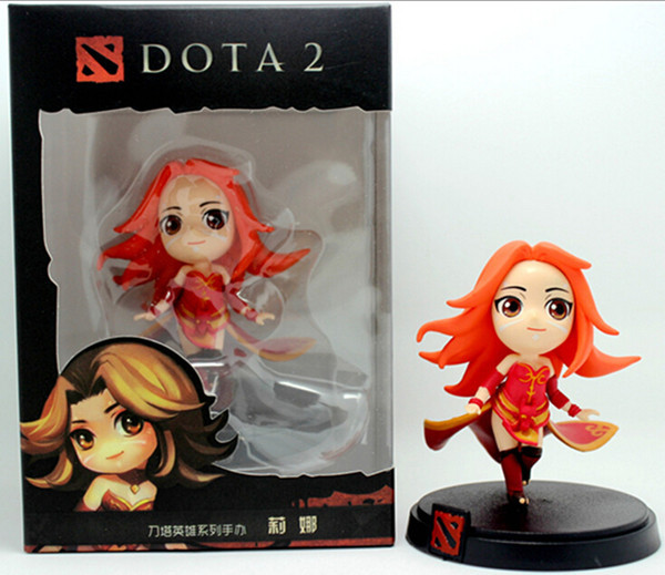 Hot game toys Dota2 pvc action figure