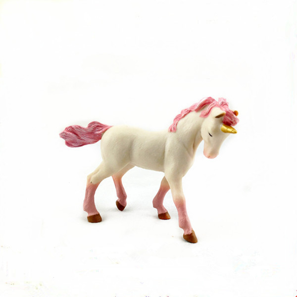 Cheap small promotional pvc plastic horse animal  toys