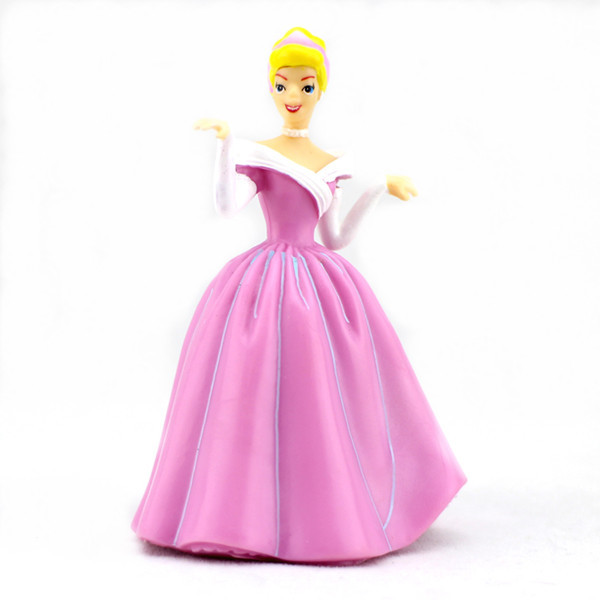 Wholesale 6pcs beauty fairy pvc disney princess figure