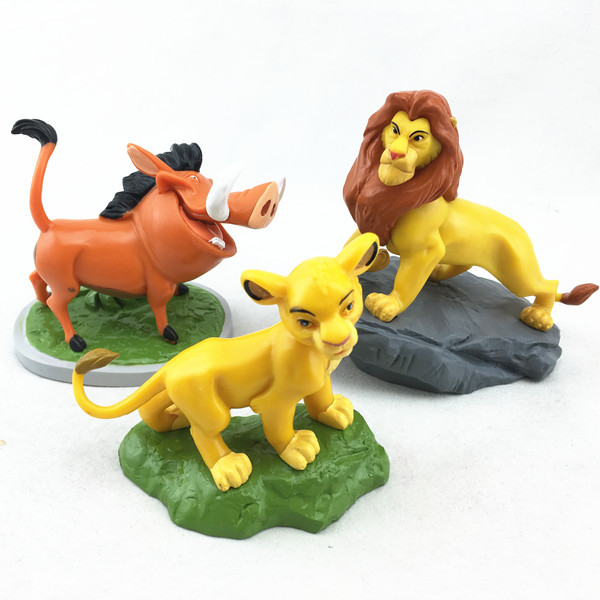 Wholesale Home Decor Plastic The Lion King Toy