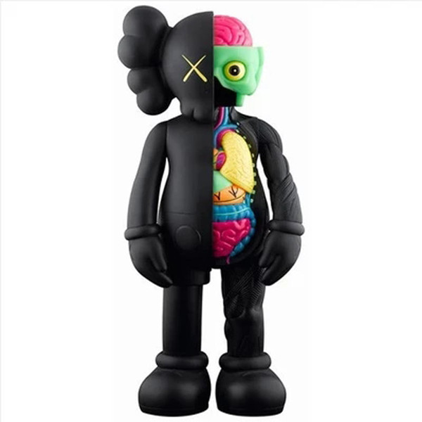 Life-size japan anime plastic funny mini kaws action figure
