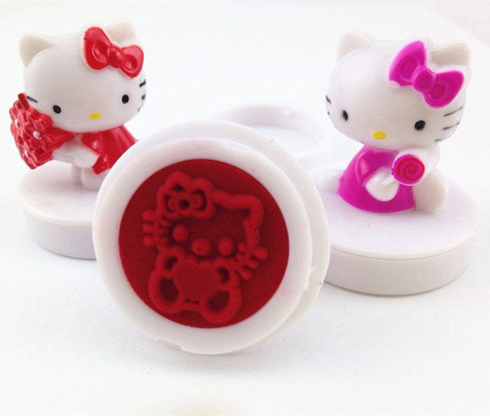 Hello Kitty figure Stamp Toys