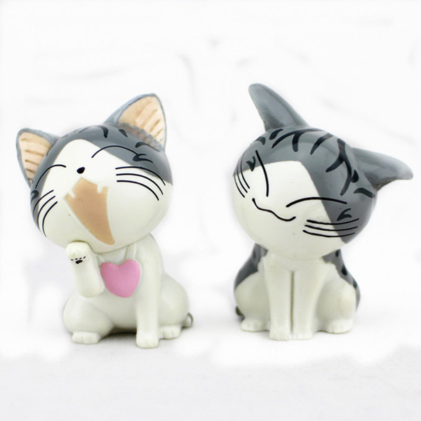 For Decor Promotion Cute Plastic Cat Toys