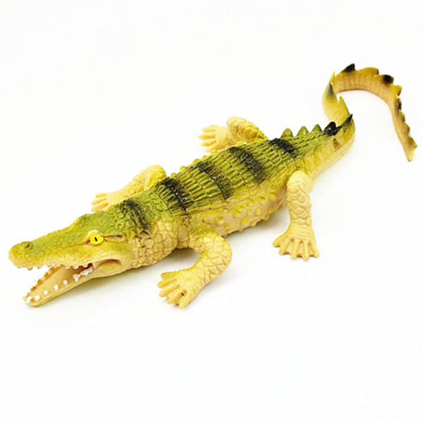 3D Animals Soft TPR Crocodile Toys