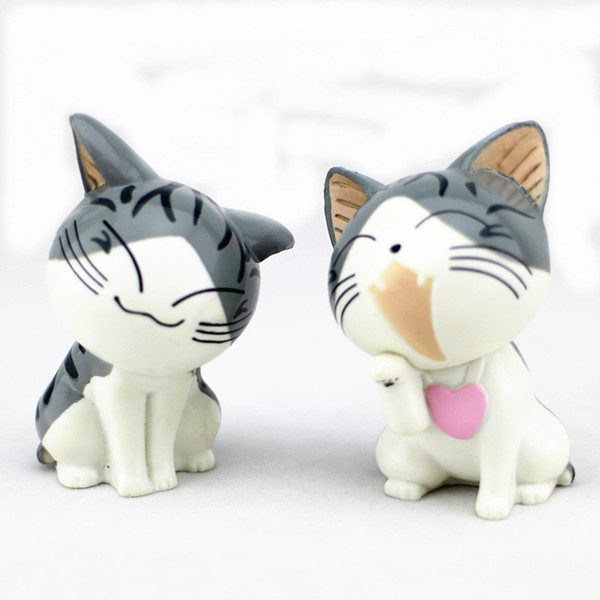 Plastic Chi Cat Animal Toys