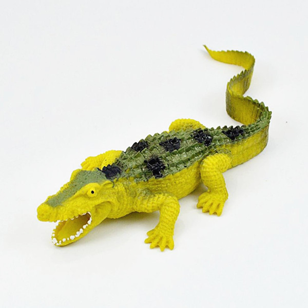 Soft TPR Small Lifelike Crocodile Toys