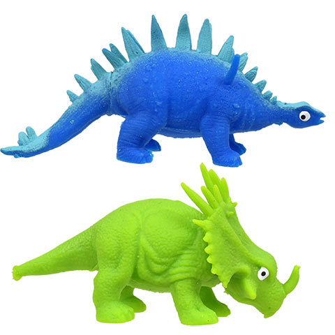 Plastic cartoon mini dinosaur toy