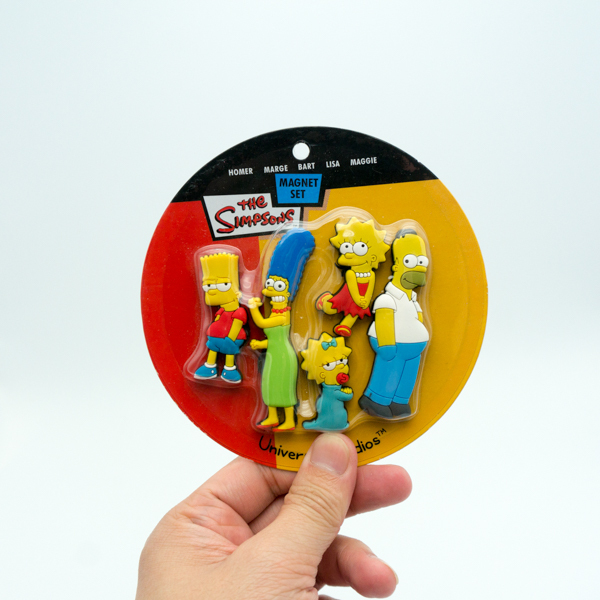 Kids Toys Simpson Magnet Set