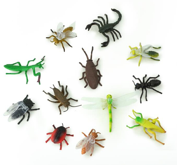 Miniatures Plastic Ant Insects Model Toy Sets