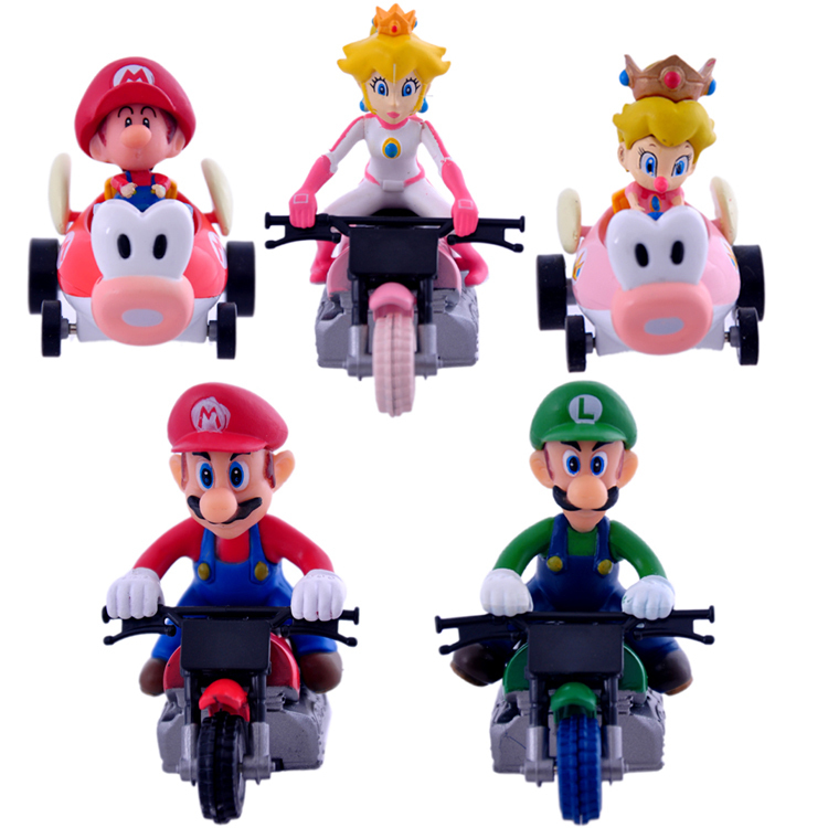 High quality  plastic mario toy cars with vehicle