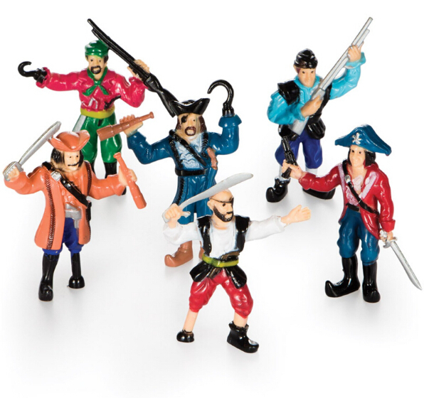 Plastic Pirate Action Figures