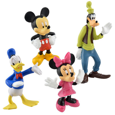 Plastic Cartoon Figure - Disney