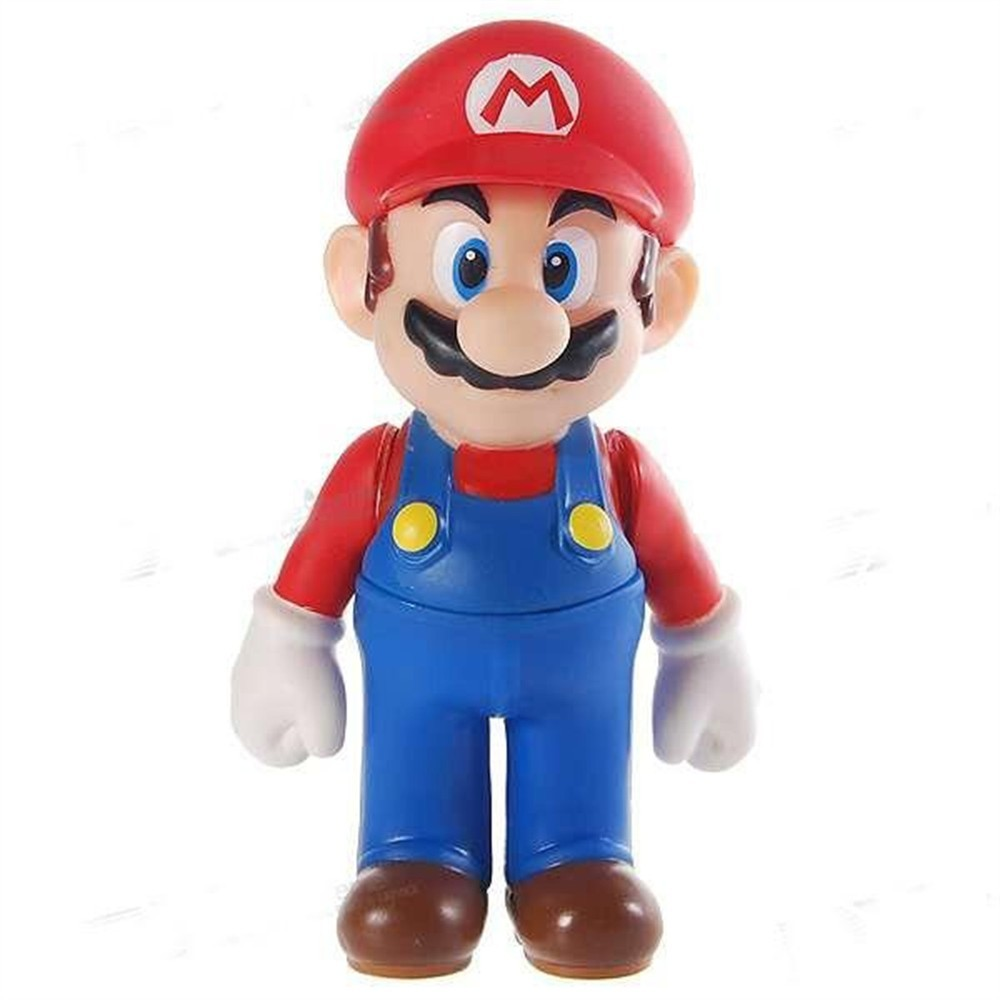 Plastic Mario Action Figure