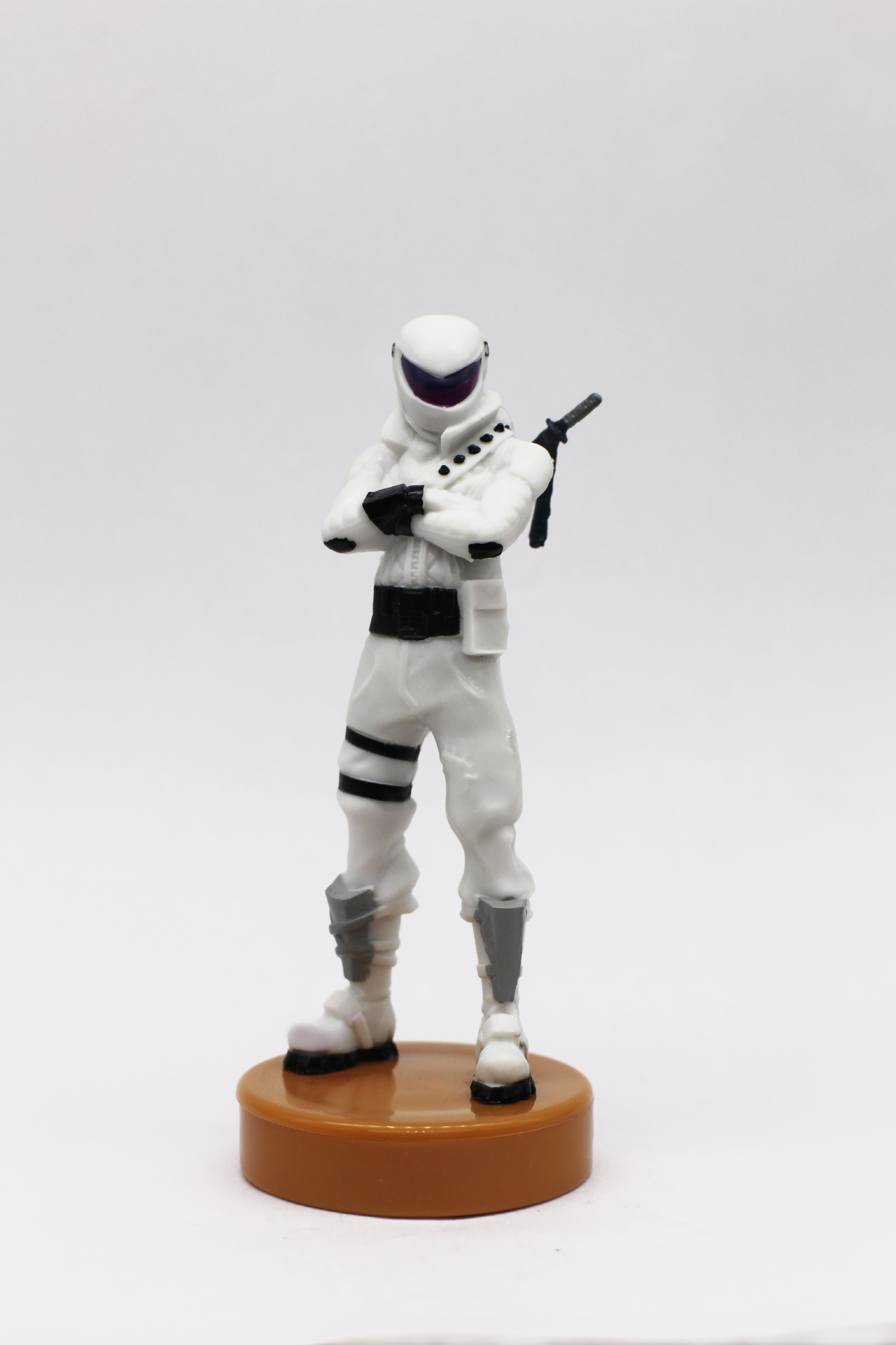 3D Fortnite stamper figure