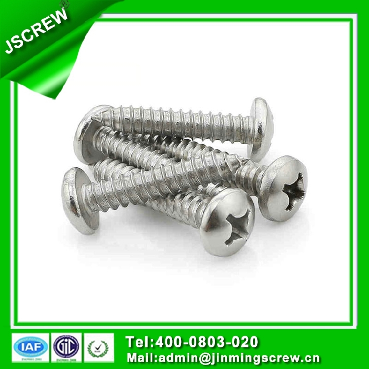 m2 stainless steel self tapping screw