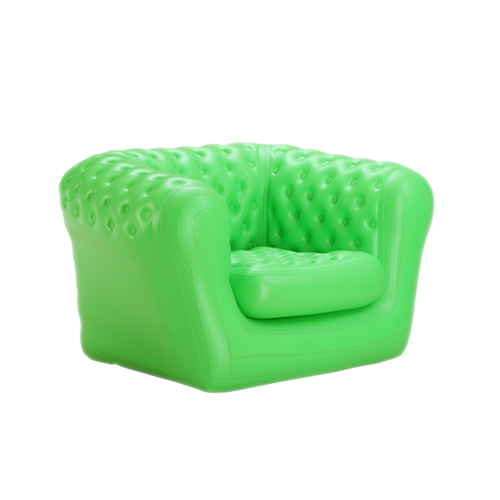 AIR SOFA CHAIR GREEN COLOR